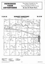 Burnett Township, Tilden, Clair Creek, Elkhorn River, Directory Map, Antelope County 2006